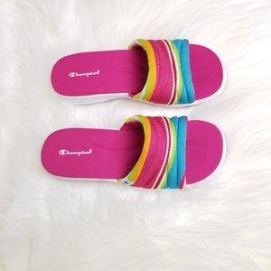 14c6d7d78b8 Champion Shoes - Champion Multi Color Pink Sandals